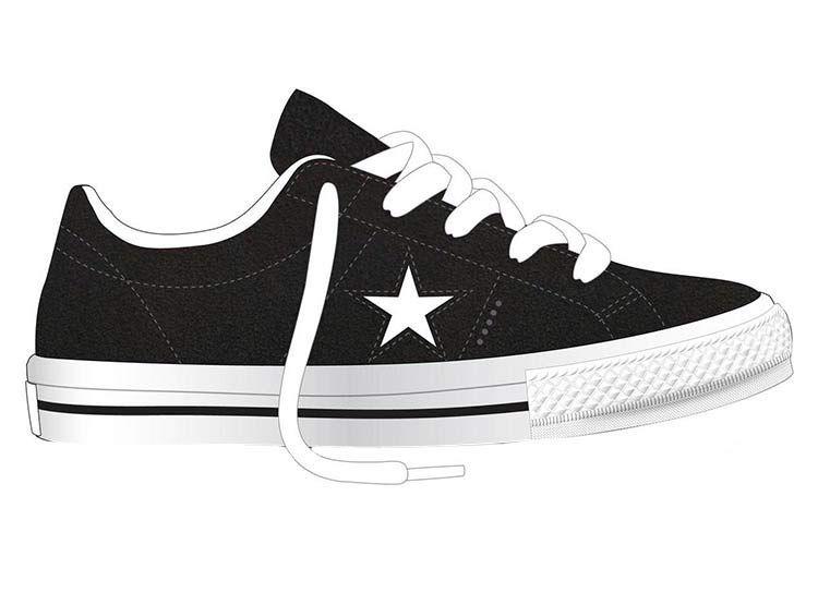 zapatillas converse one star mujer