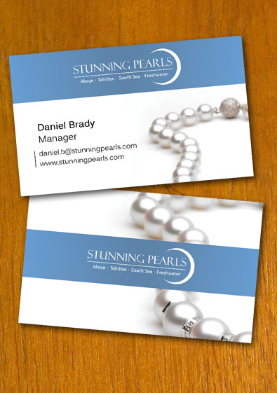 Free Sample Pearl Jewelry Business Card Template Jewelry Business Card Jewelry Business Pearl Jewelry