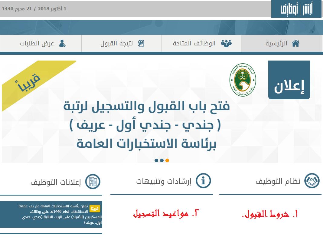وظائف الاستخبارات العامة السعودية 1440 تعرف على موعد فتح باب القبول والتسجيل وشروطه عبر أبشر نجوم مصرية Pandora Screenshot