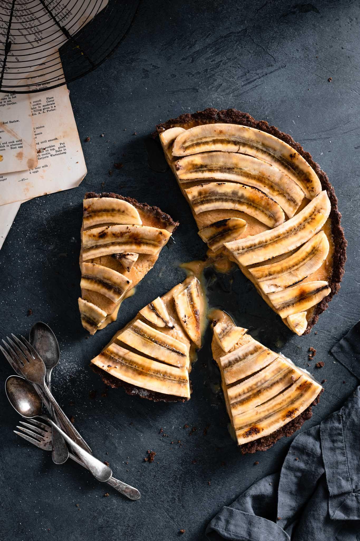 Banana Brulee Tart Cremebrulee Banana Bananatart Bruleebanana Bananadessert Cremebruleerecipe Tart Foodphotography Banana Recipes Food Tart Dessert