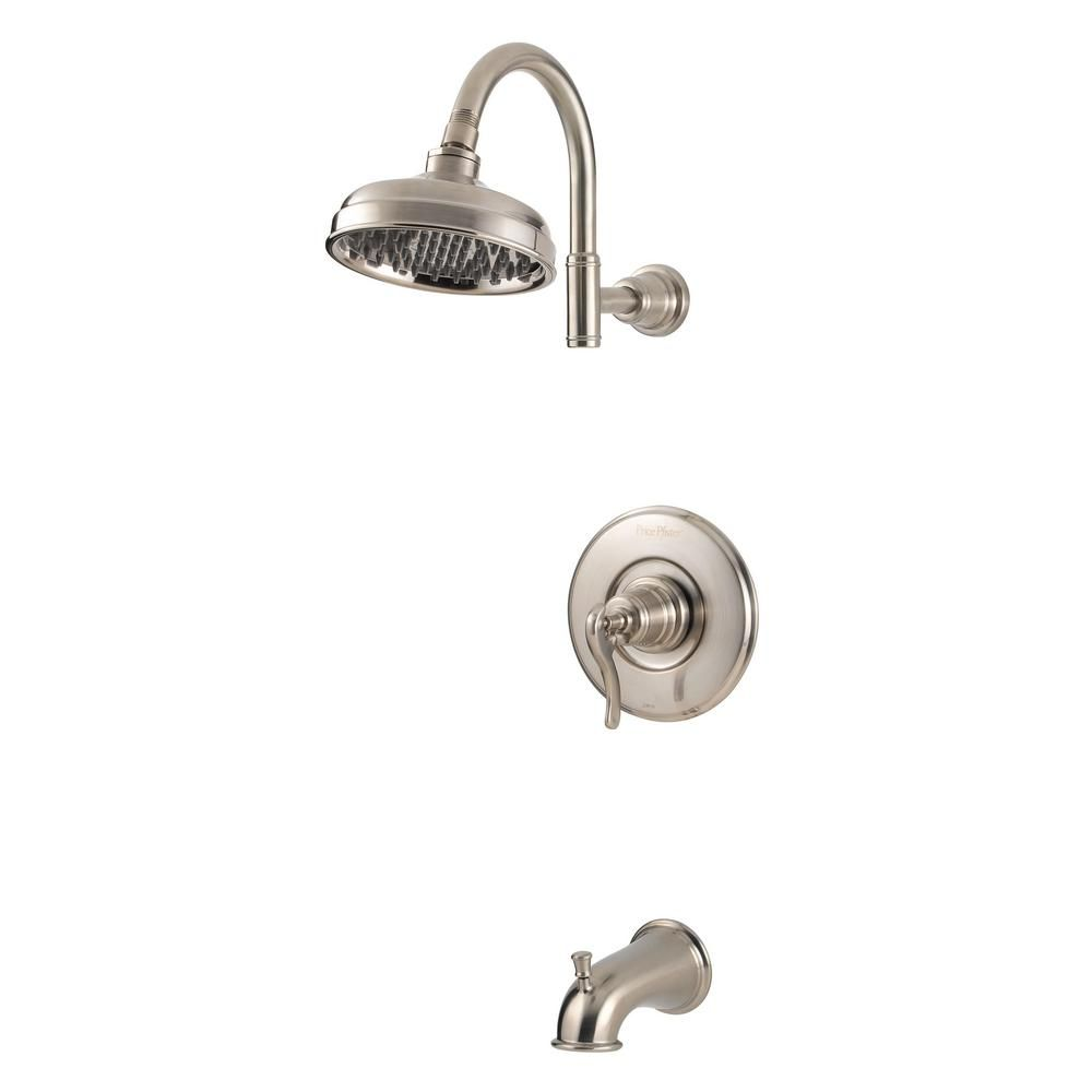 Pfister Ashfield 1 Handle 1 Spray Tub And Shower Trim Kit In