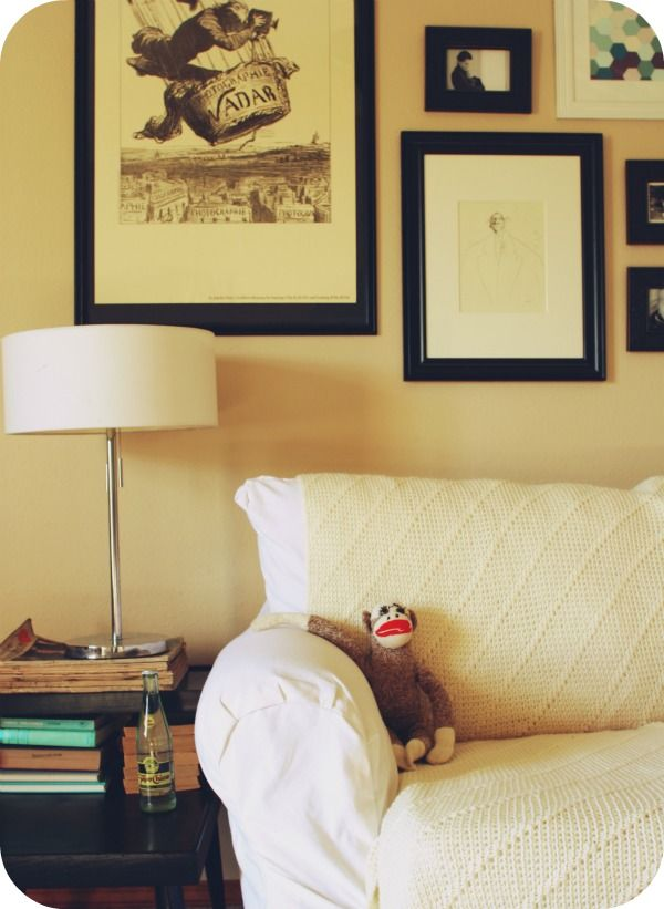 white couch, tan walls... | for my house | Pinterest | Tan walls ...