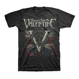 Vintage Bullet For My Valentine t shirt emo gothic music punk Medium Size
