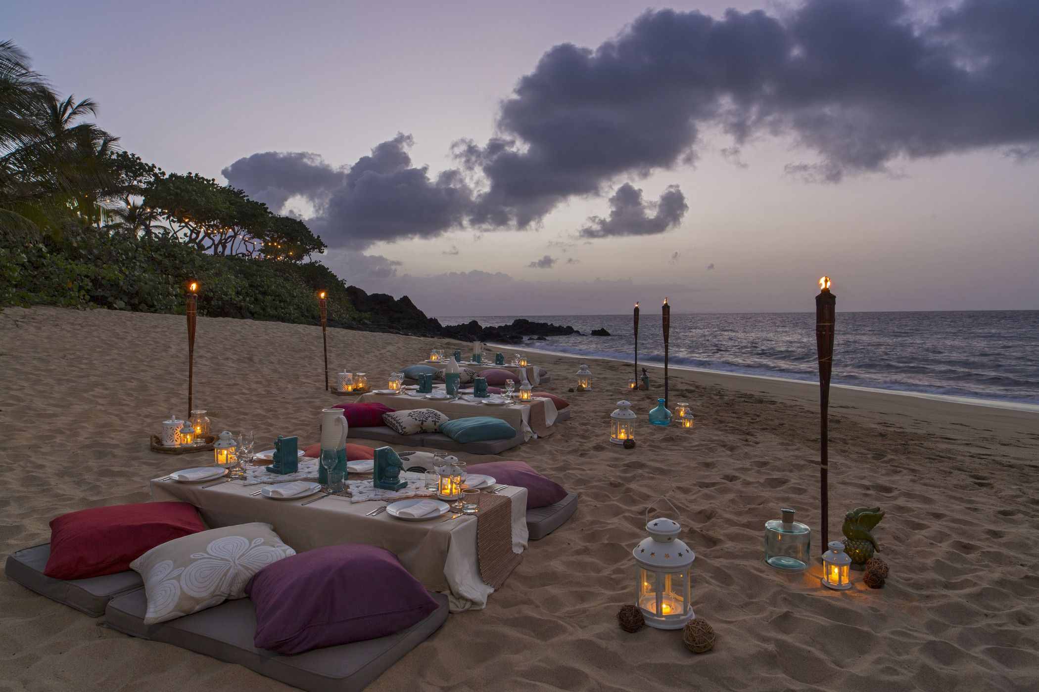 beautiful and exclusive private dinner on our secluded