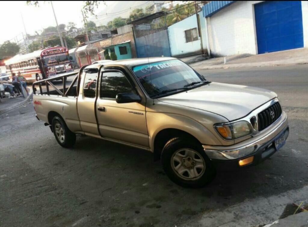 Venta De Carros En El Salvador >> Toyota Tacoma 2002 Standard Carros En Venta San Salvador El