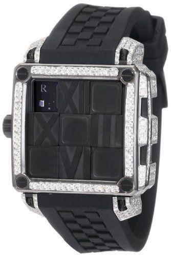 Ritmo Mundo Women's D511/2 BLK Diamond Puzzle Slide Case Automatic Watch $18,000.00