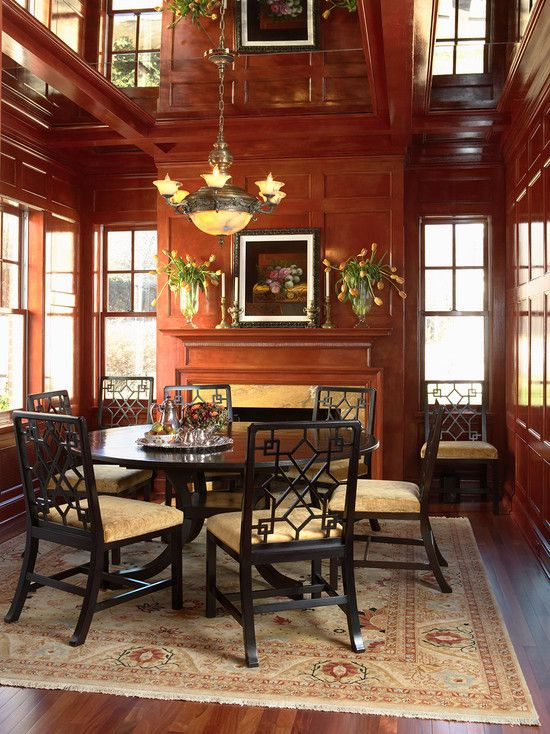 Dining Room Library Ideas: Library Panels Design, Pictures, Remodel, Decor And Ideas