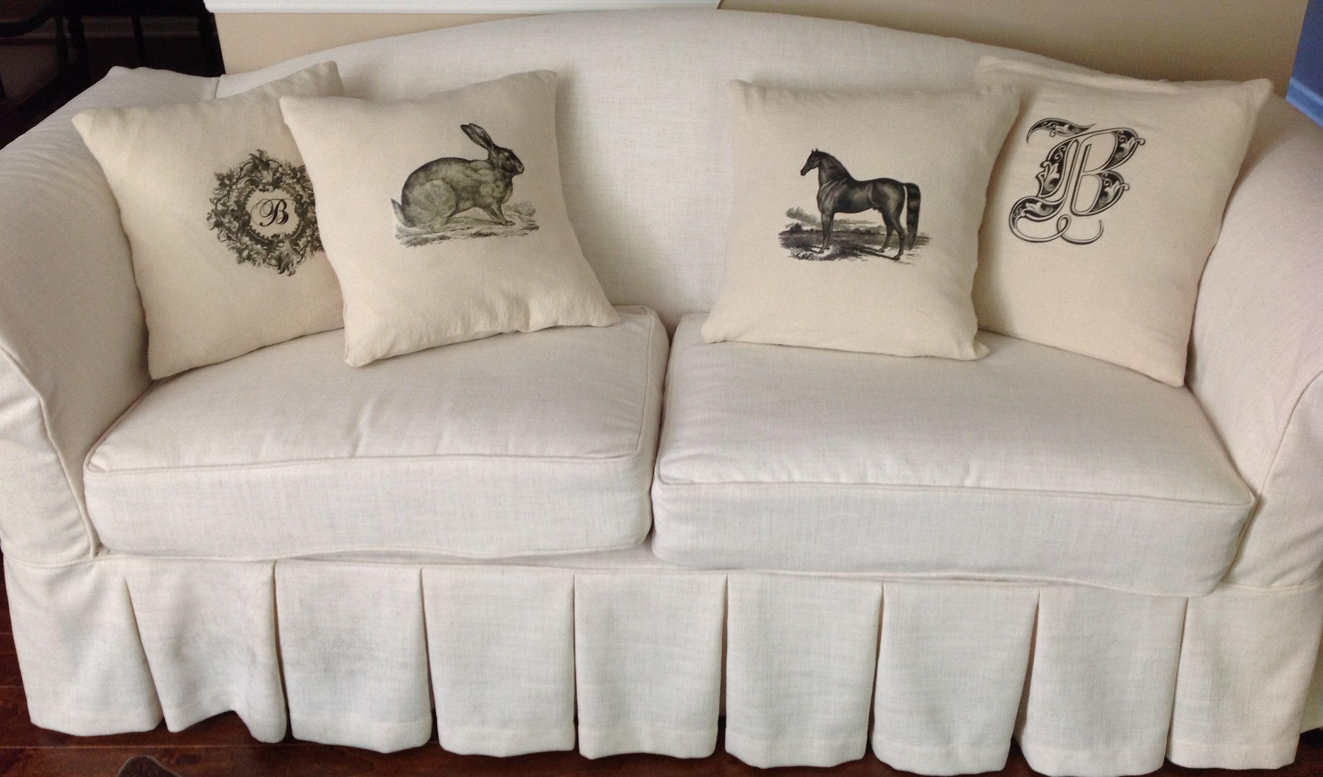 17 bilder om A Sofa Slipcover DIY on Pinterest