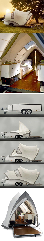 """""""The Opera"""" pop up camper. So very cool! Casa rodante"""