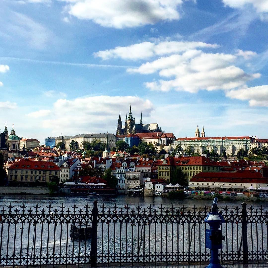 View of Prazky Hrad from Charles Bridge Prague. #czech #traveling #europe #praga #prague #instatravel #travel #traveling #travelgram #wanderlust #bridge by andrux2k