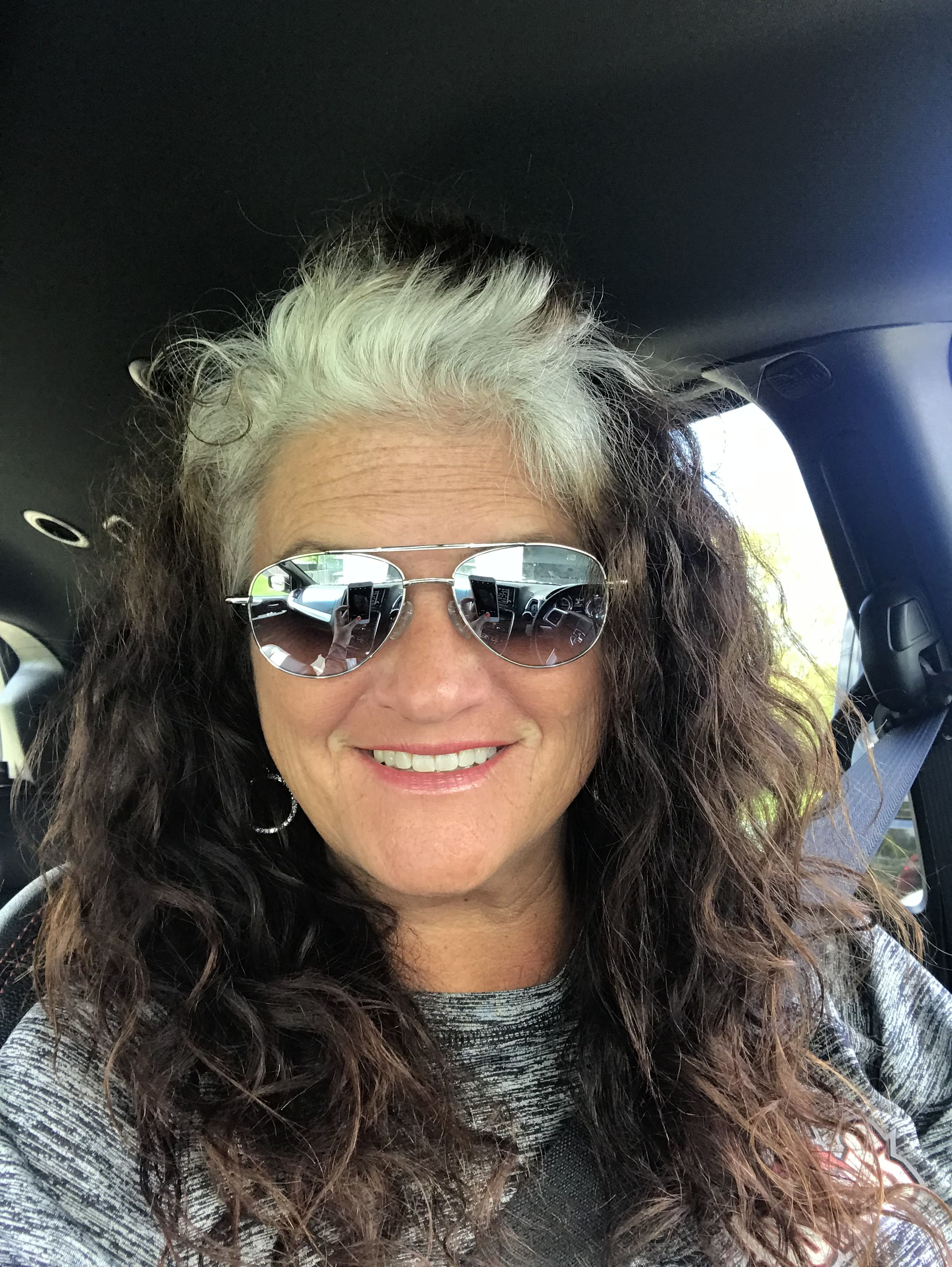 Pin by Valerie Leachman on Transition to Grey   Hair