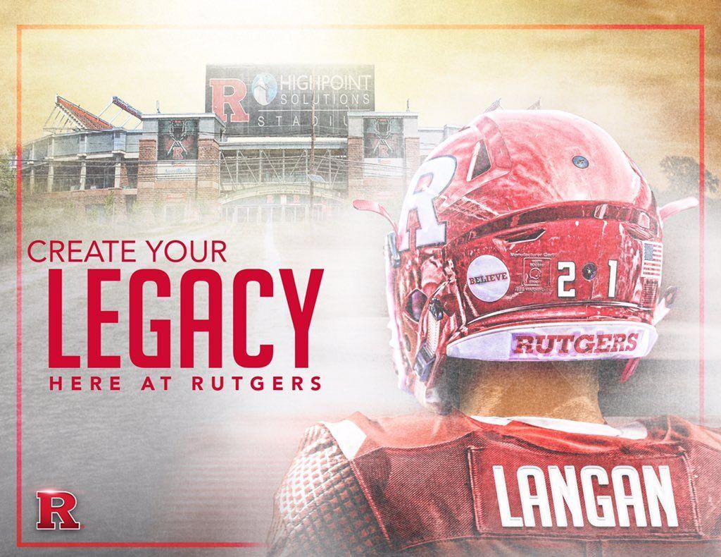 Rutgers Sports Design Inspiration Sports Graphic Design Sports Design