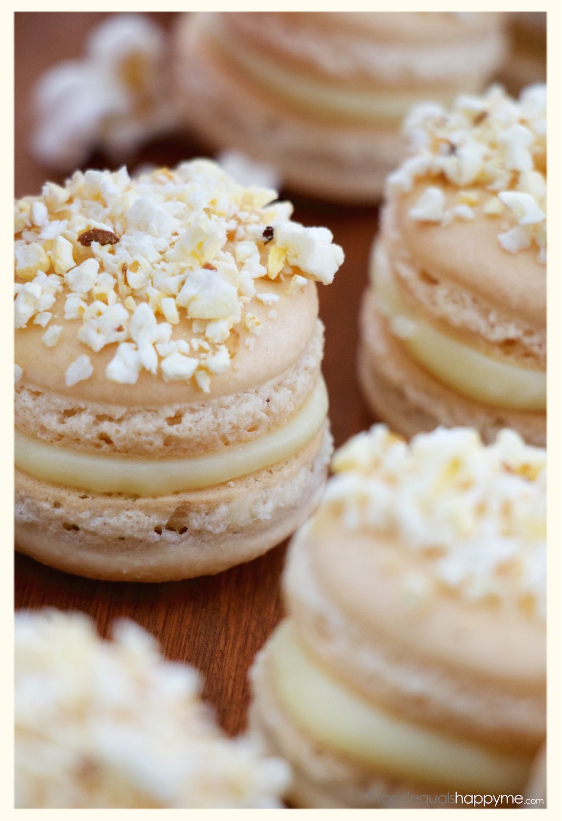 salted butter popcorn macarons food drinks pinterest geb ck franz sisches geb ck und. Black Bedroom Furniture Sets. Home Design Ideas