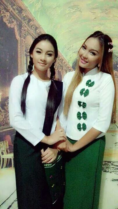 The School Uniforms Of Myanmar  S C H O O L U N I F O R M S-5526