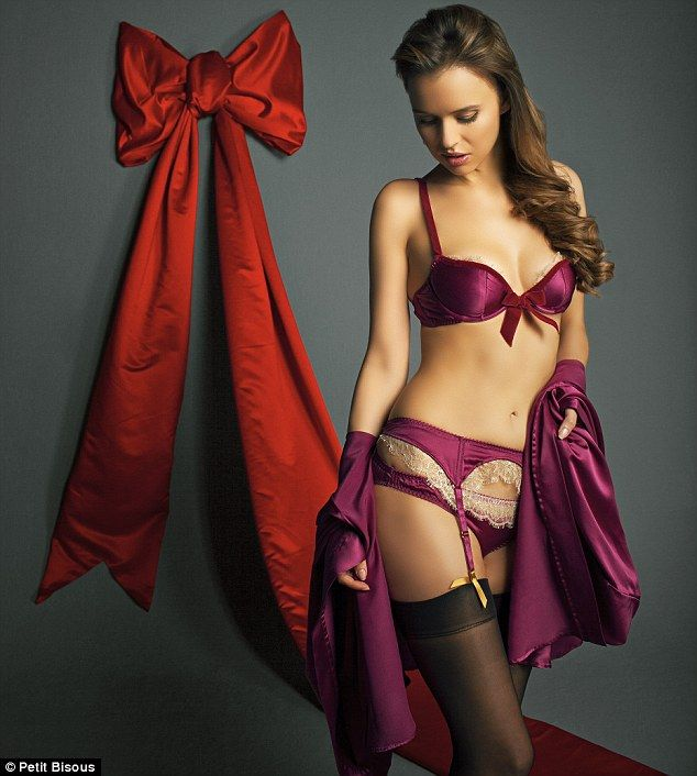 2107b47c58 The sexiest Christmas stockings around  FEMAIL rounds up the season s best  lingerie sets