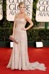 Always loved this dress. Carrie Underwood at the Golden Globes.
