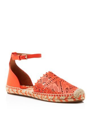 79669e48ee5 Tory Burch Roselle Ankle Strap Espadrille Flats