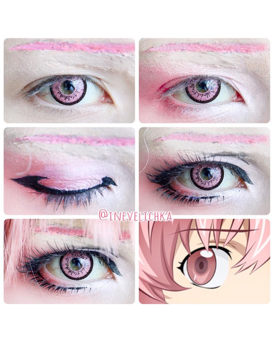 Pin By Melyssa Wei On Cosplay Makeup Anime Cosplay Makeup Cosplay