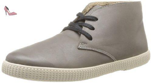 106785, Desert boots mixte adulte, Noir (Negro), 39 EUVictoria