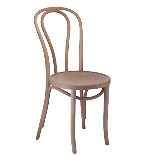 european bentwood wood dining chairs unfinished 2pack ma https