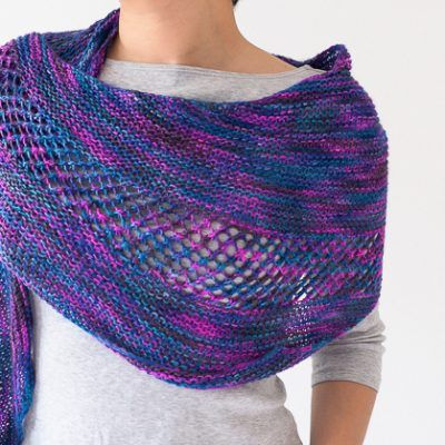 New Paths Shawl Free Knitting Pattern | Knitting | Pinterest ...