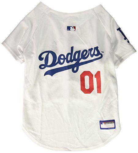 9f4da927235 Officially licensed Major League Baseball dog apparel Sports team logo  Baseball cut design
