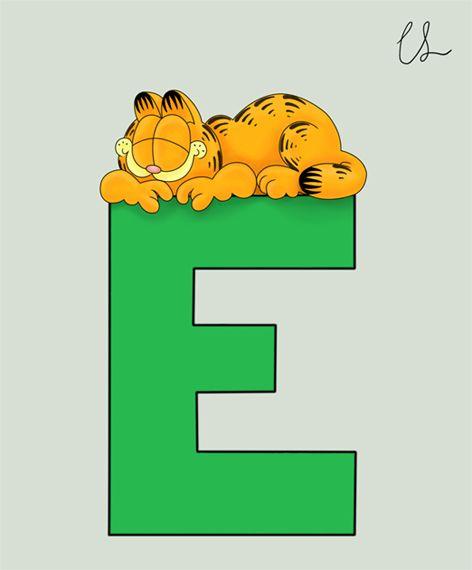 Garfield alphabet e by lambini on deviantart garfield garfield alphabet e altavistaventures Gallery