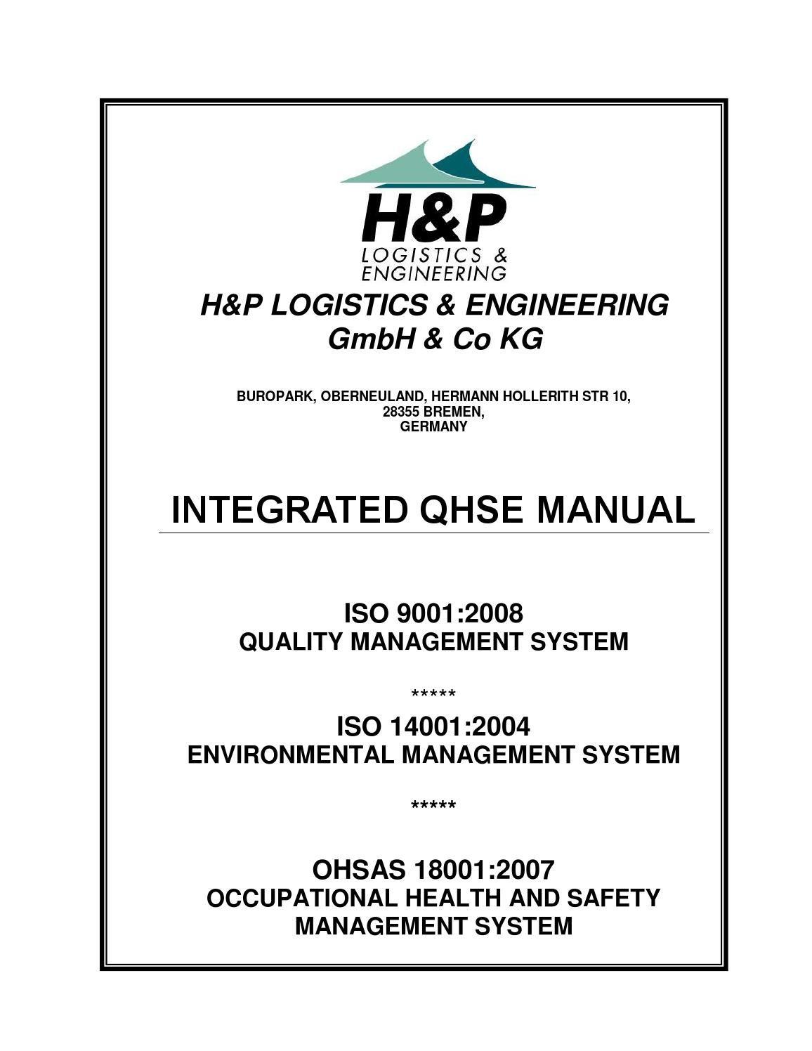 qhse_manual_rev_02 Environmental management system