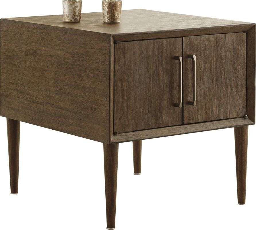 Napoleon End Table End Tables With Storage Furniture Living Room Decor Furniture