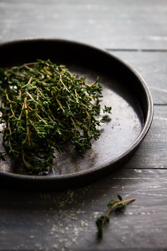 Thyme // Sips and Spoonfuls