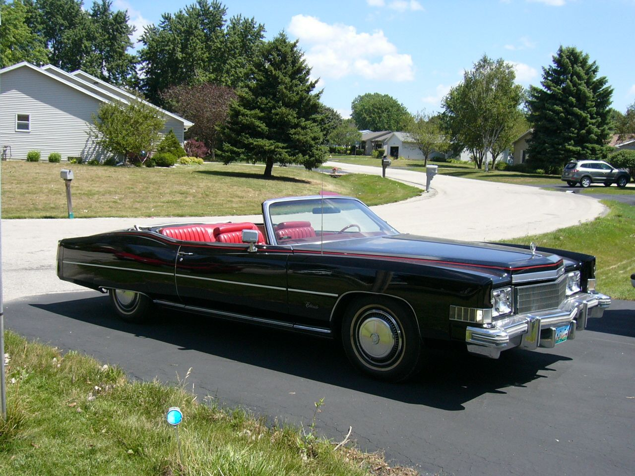 Classic 1974 Cadillac Eldorado Black for sale in Appleton