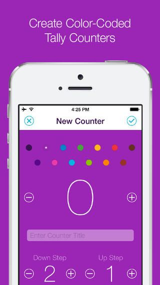 Counters• Colorful Tally Counter for Simply Keeping