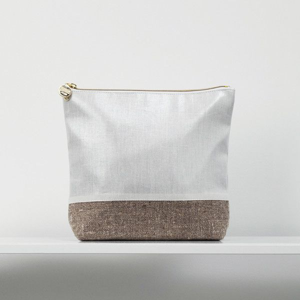 Large Linen Cosmetic