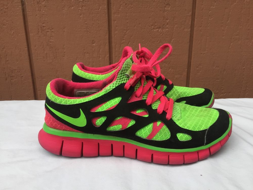 sale retailer 4c869 94c9a eBay #Sponsored Nike Free Run 2 Girls Multi-color US Youth ...