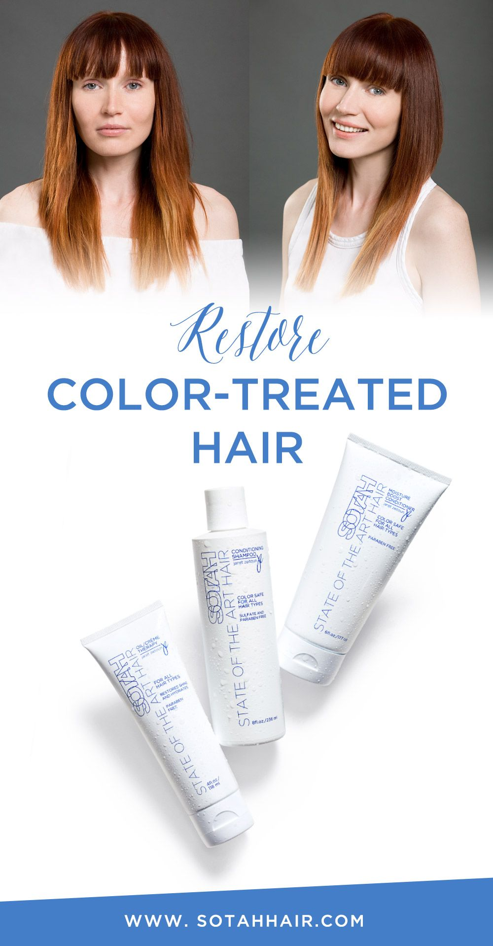 Color Safe Hair Care | Hair Products for Hydration | Restore Color ...