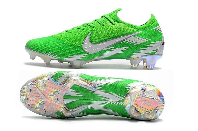 Nike World Cup 2018 Mercurial Vapor Xii Fg Boots Green Silver Nike World Soccer Cleats Nike Nike