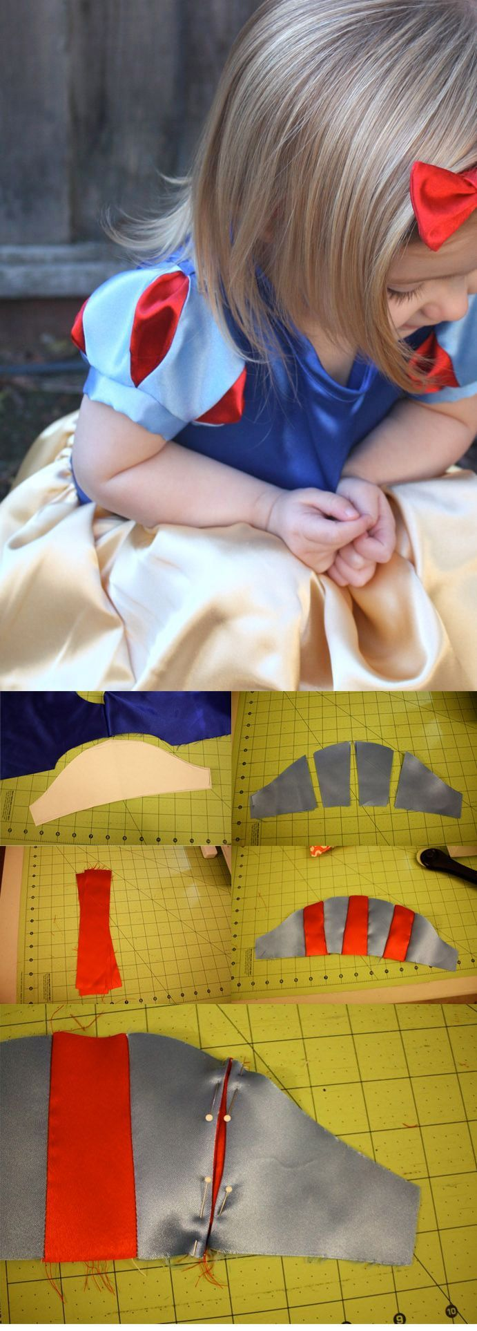 Sewing : SNOW WHITE SLEEVES TUTORIAL ( http://www.craftinessisnotoptional.com/2010/11/snow-white-sleeves-tutorial.html )