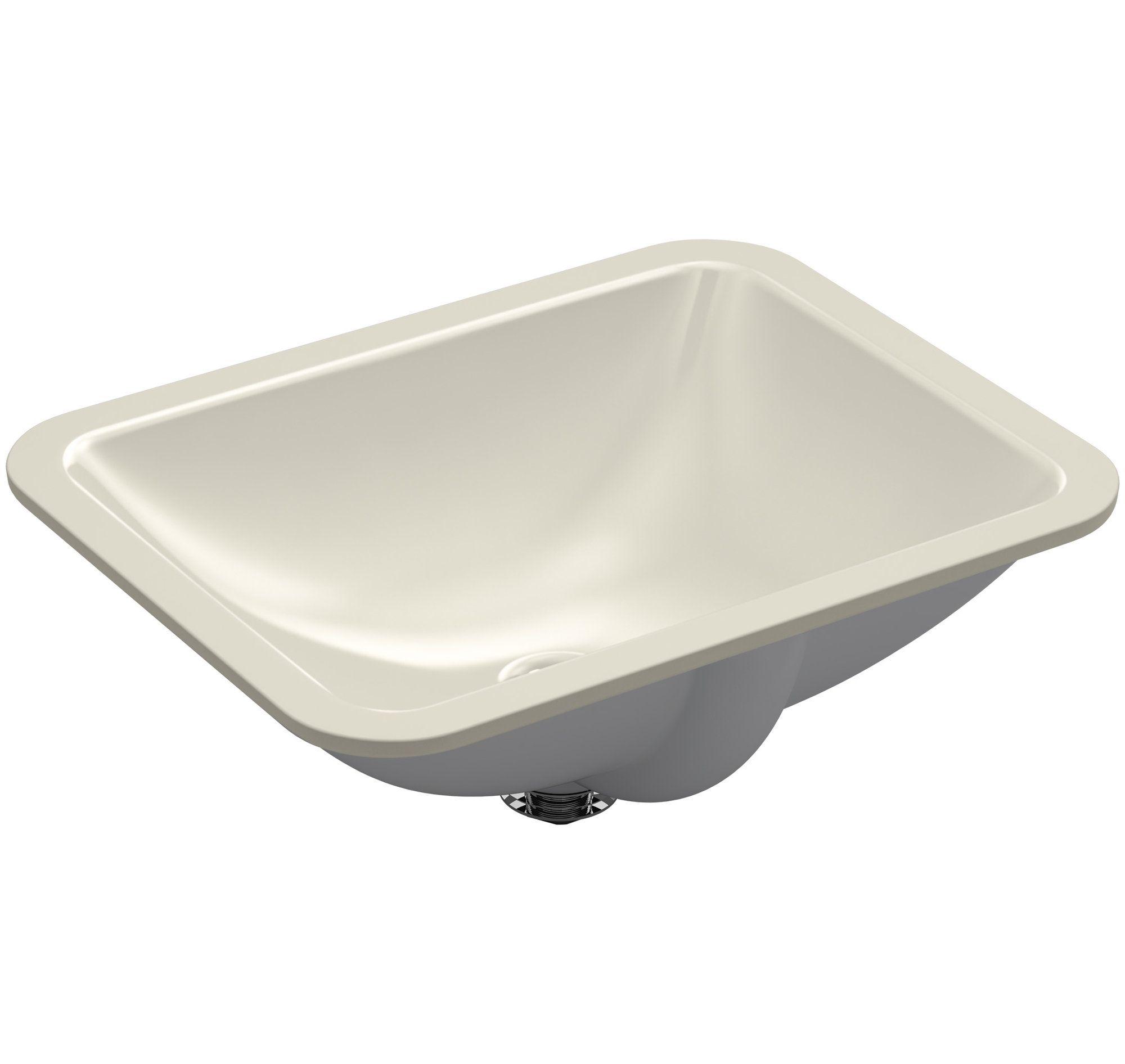 Caxton Rectangle Undermount Bathroom Sink Undermount Bathroom