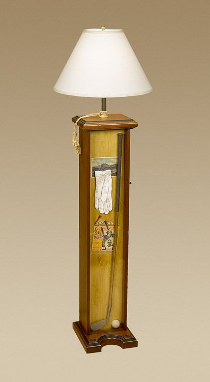Golf Floor Lamp I Could See This Is A Family Room Or