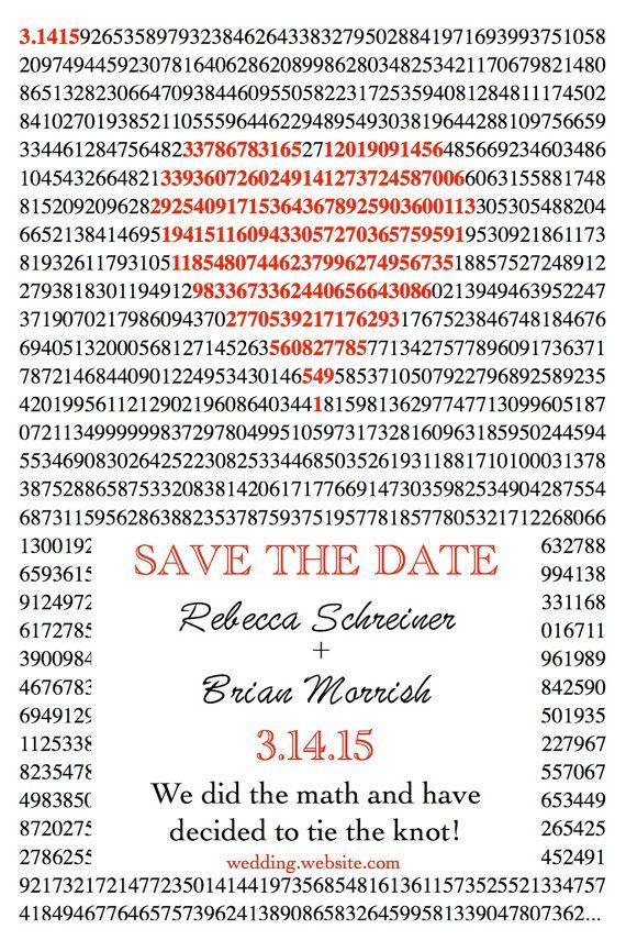 pi day invitation