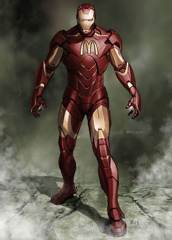 Sponsored Heroes - Iron Man