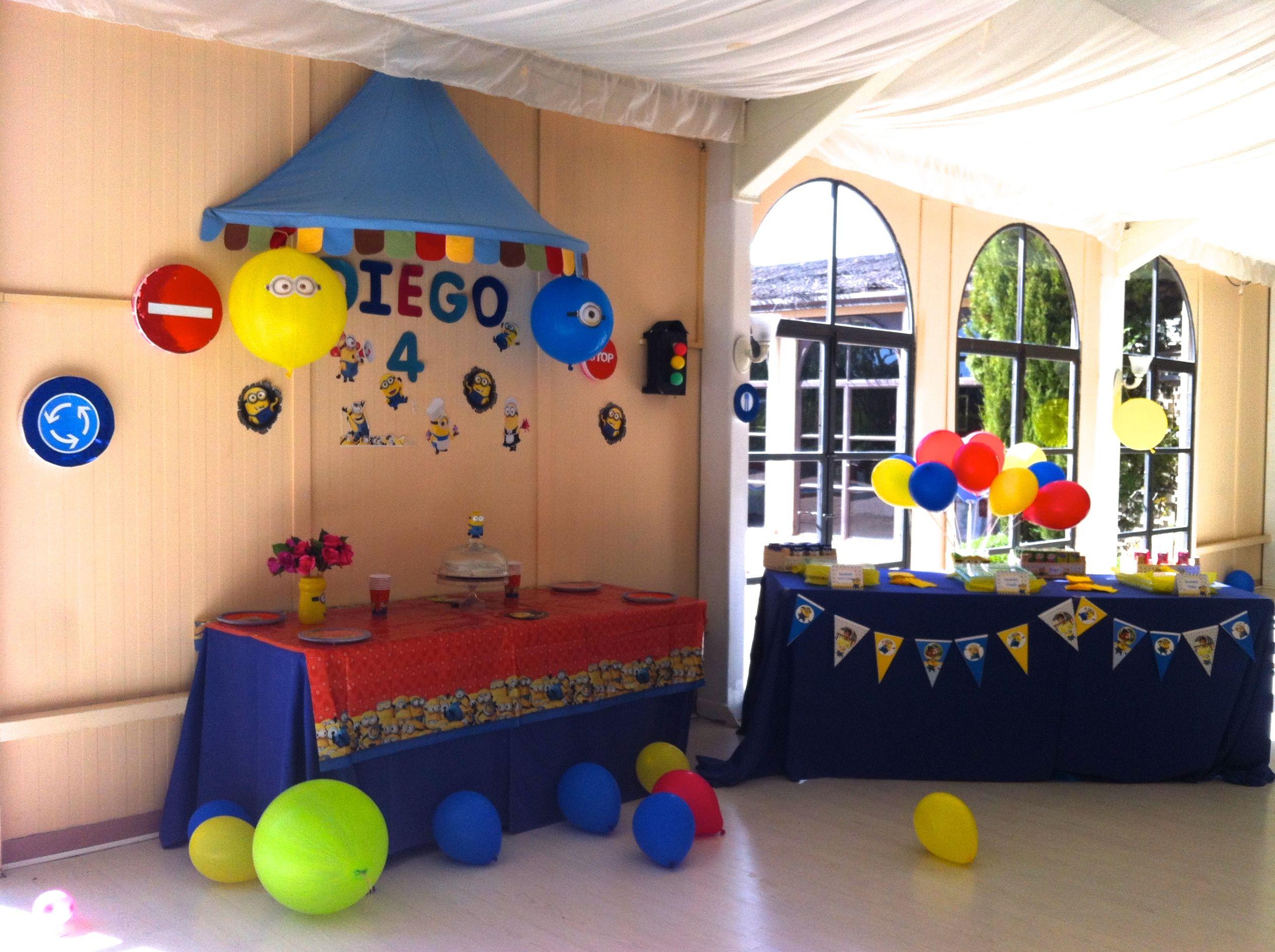 Fiesta infantil minion