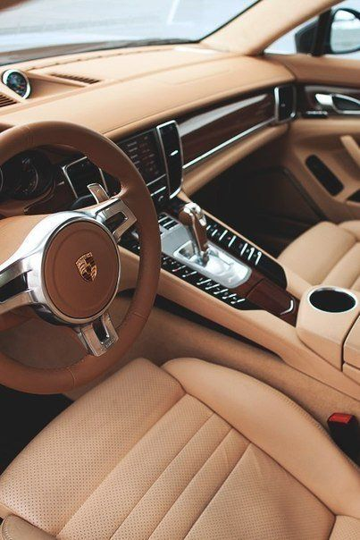 Porsche With The Peanut Butter Leather Interior