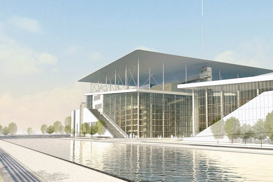 Stavros Niarchos Foundation Cultural Center (With images
