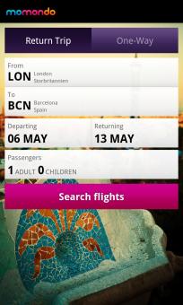 NEW! Momondo Flight Search App free on BlackBerry World - #Travel