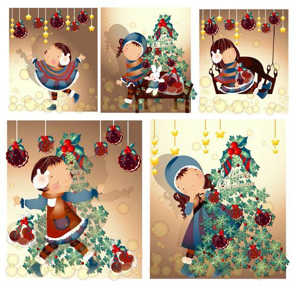 Girl Christmas style 2 Vector - https://gooloc.com/girl-christmas-style-2-vector/?utm_source=PN&utm_medium=gooloc77%40gmail.com&utm_campaign=SNAP%2Bfrom%2BGooLoc