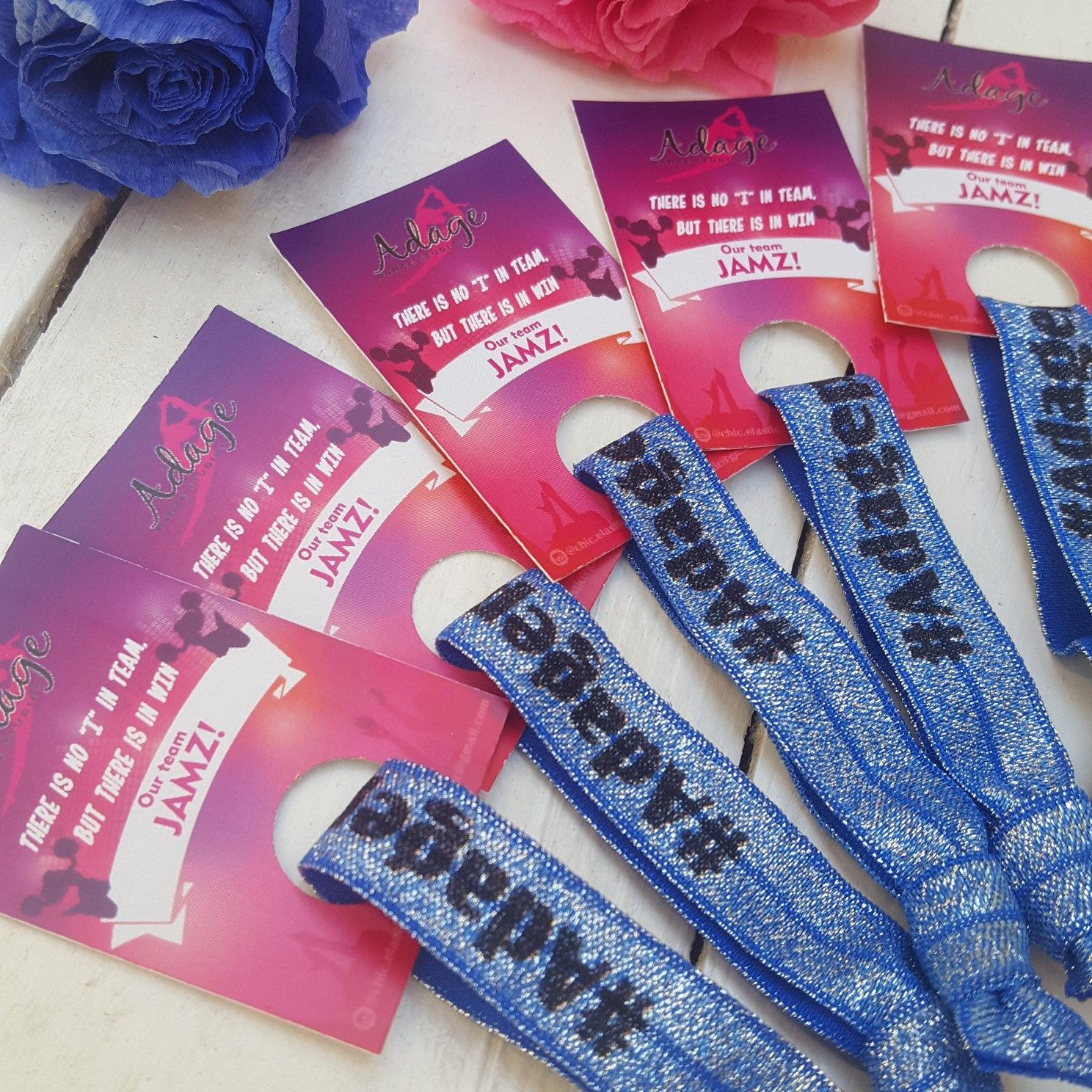 Wedding gift hair ties - survival kit - bridesmaid favors - wedding ...