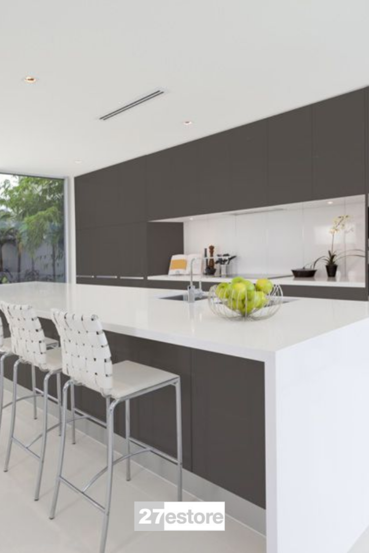 Acrylic Matte Graphite In 2020 Rustic Kitchen Design Rustic Kitchen Decor Rustic Home Interiors