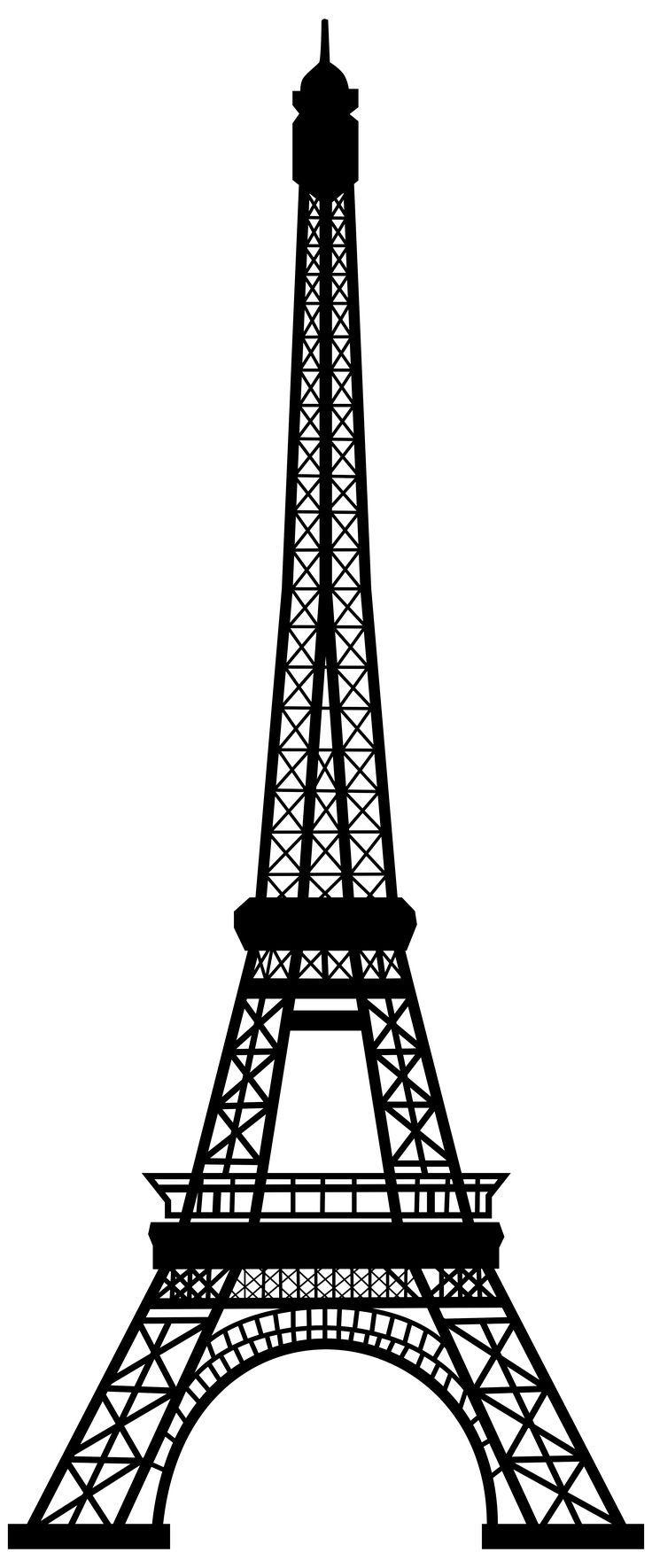 Transparent Eiffel Tower Silhouette Png Clip Art Image Torre Eiffel Desenho Molde Torre Eiffel Torre Eiffel
