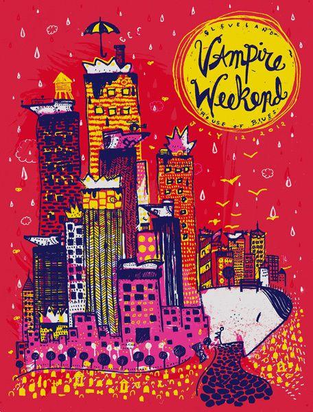 Artistic Indie Music Gig Posters Vampire Weekend Indie Rock Indie Art Music Poster Music Music Artists Indie Band Posters Indie Movie Posters